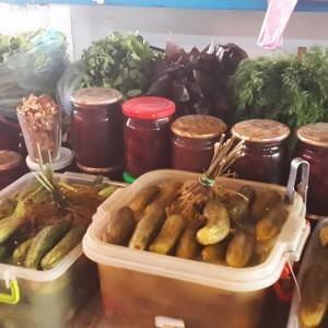 центральный рынок в Судаке