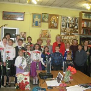 Светлой памяти Игумена Никона с детьми