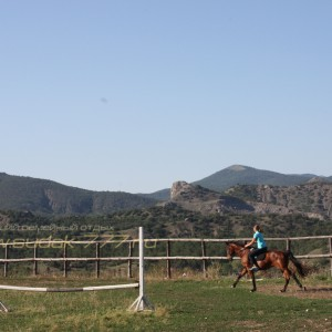 Конные прогулки в Судаке